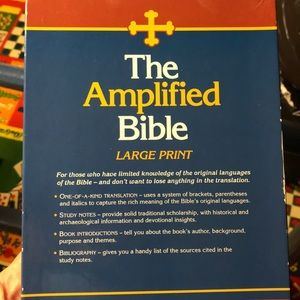 Zondervan 'The Amplified Bible' Large Print